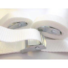 Optioneel: Spanbanden Wit - Set van 3 stuks