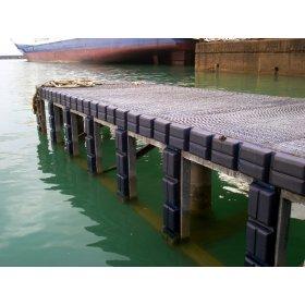 Breed profiel stootkussen systeem ook geschikt voor eb en vloed