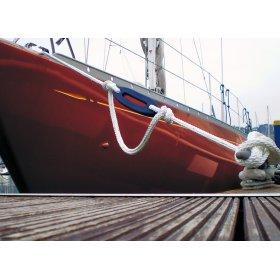 Bewegingsdemper bootslijn landvast touwdemper