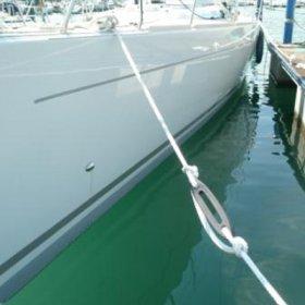 Nereïde rek demper bewegingsdemper in lijn boot