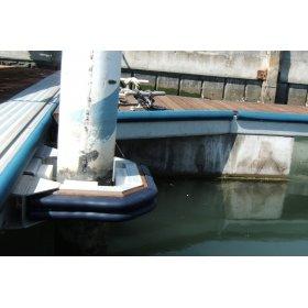 makkelijk te vormen steiger stootrand stootrand boot