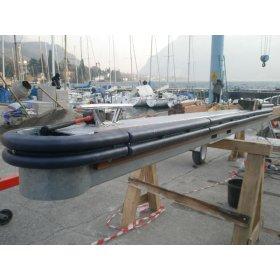 boot beschermd tegen rand steiger stootrand boot stootrubber
